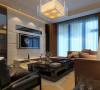 简约中式 客厅