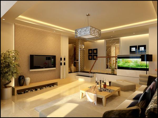 设计师以白色、黄色、重色为主,采用简洁的造型、曲线的家具,以玻璃的清透、明丽来装饰