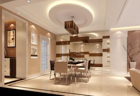 现代 高度国际 时尚 三居 白领 80后 简约 白富美 小清新 餐厅图片来自北京高度国际装饰设计在廊桥水岸现代风情的分享