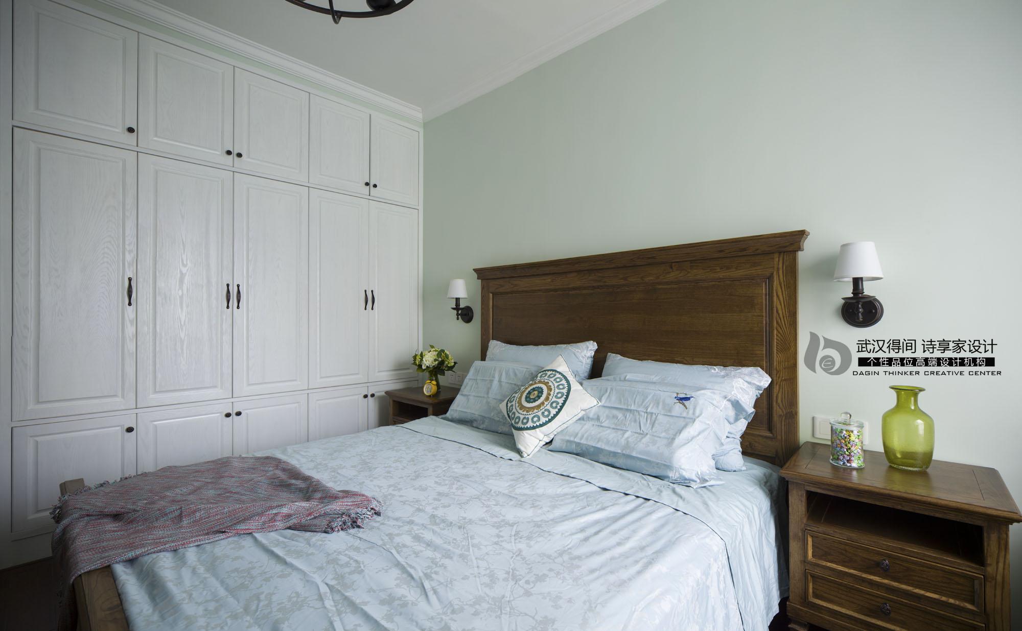 卧室图片来自得间诗享家设计在初·遇的分享