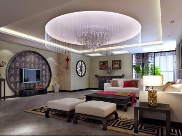 银基王朝中式古典风格装修案例