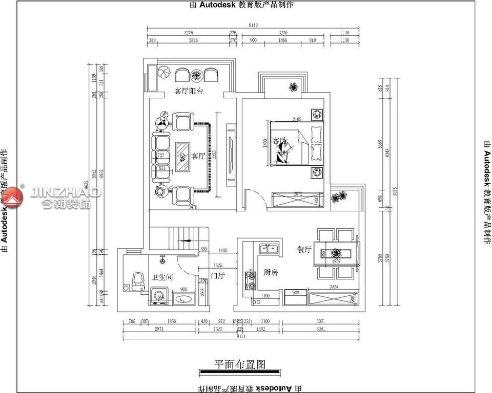 户型图图片来自152xxxx4841在海棠家园280复式的分享