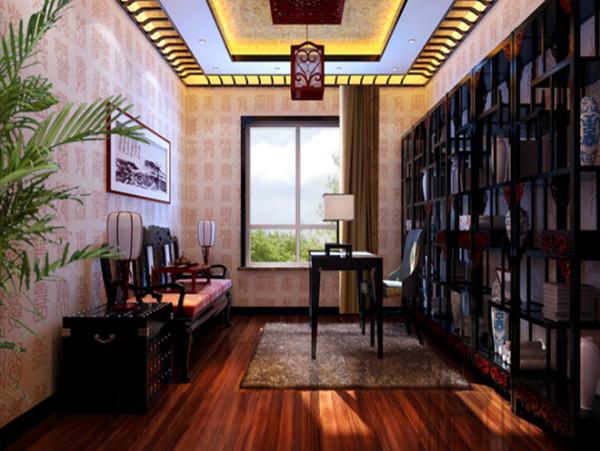 在配饰的选择方面更为简洁,少了许多奢华的装饰,更加流畅地表 达出传统文化中的精髓。为了给居室增添几分暖意,饰以精巧的灯具和雅致的挂画,使整个居室 在浓浓古韵中渗透了几许现代气息。