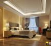 保利国际现代奢华卧室
