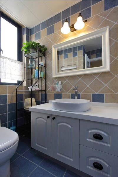 金地朗悦三居室户型卫生间效果图展示