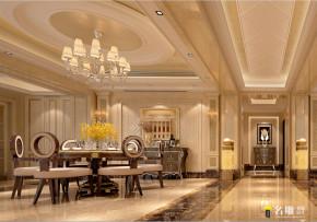 新古典 四居 高富帅 新贵装饰 都市新贵 80后 兰江山第 餐厅图片来自名雕装饰设计在兰江山第新古典风格演绎都市新贵的分享
