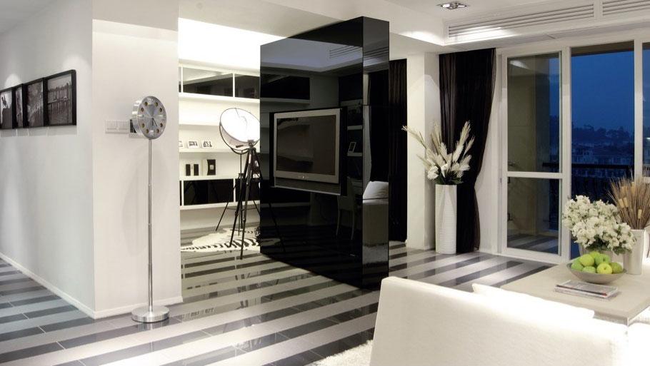 和风相府 三居室 现代简约 高度国际 装修设计 客厅图片来自高度国际装饰宋增会在和风相府 现代简约的分享