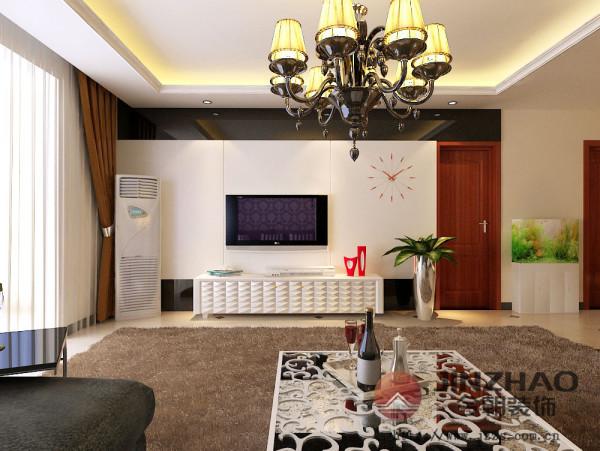 """本案例简欧风格继承了传统欧式风格的装饰特点,吸取了其风格的""""形神""""特征,在设计上追求空间变化的连续性和形体变化的层次感,室内多采用带有图案的壁纸、地毯、窗帘、床罩、帐幔及古典装饰画,体现华丽的风格。"""