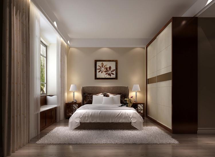 现代 简约 白领 80后 小资 卧室图片来自沙漠雪雨在上林世家7.8万简约公寓的分享