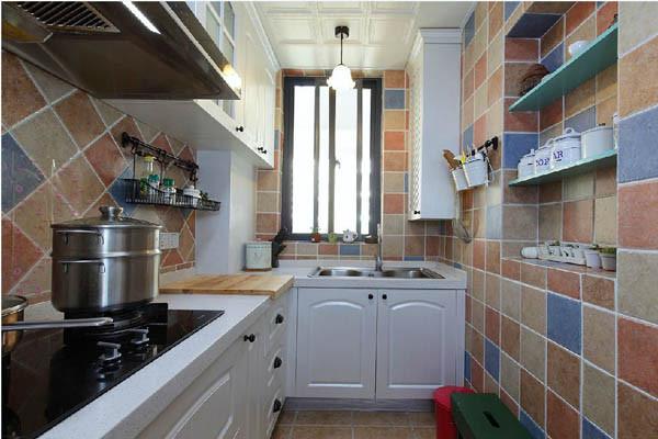 金地朗悦三居室户型厨房效果图展示