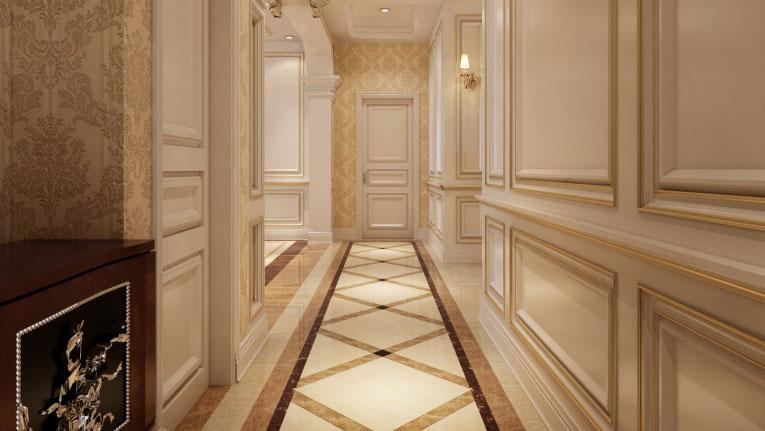 紫金长安 四居室 法式风格gd 装修设计 玄关图片来自高度国际装饰宋增会在紫金长安 法式风格的分享