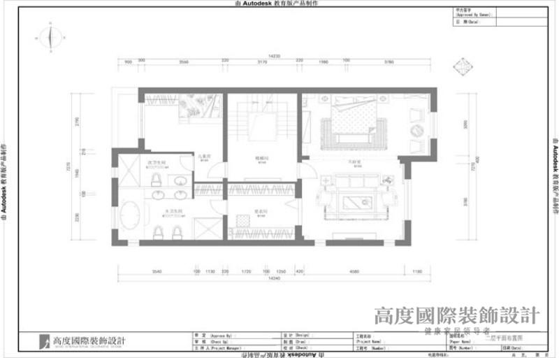 托斯卡纳 别墅 户型图图片来自高度国际设计装饰在天竺新新家园400㎡托斯卡纳的分享