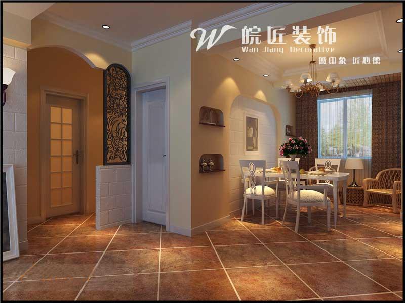 田园 二居 餐厅图片来自合肥皖匠装饰朱兴美在信达西山银杏-田园风-两居室的分享