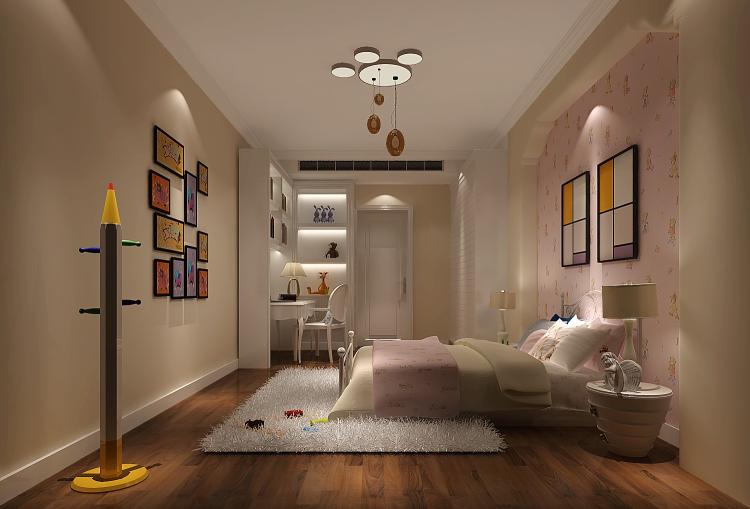 卧室图片来自沙漠雪雨在上林世家14.1万现代简约公寓的分享