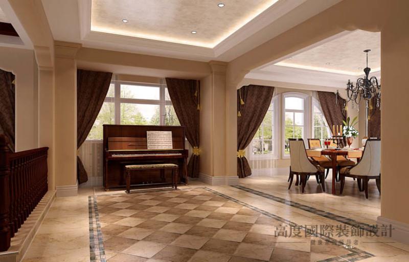 托斯卡纳 别墅 其他图片来自高度国际设计装饰在天竺新新家园400㎡托斯卡纳的分享