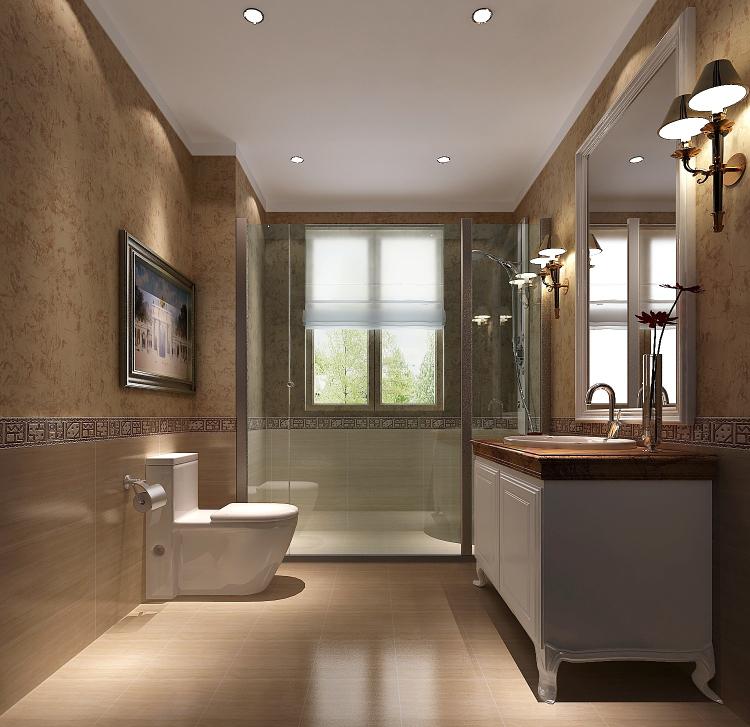 现代 简约 白领 80后 小资 卫生间图片来自沙漠雪雨在上林世家7.8万简约公寓的分享