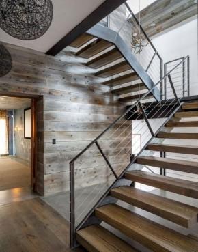 现代 个性 二居 三居 别墅 白领 收纳 旧房改造 80后 楼梯图片来自周楠在狂野的避世之家的分享