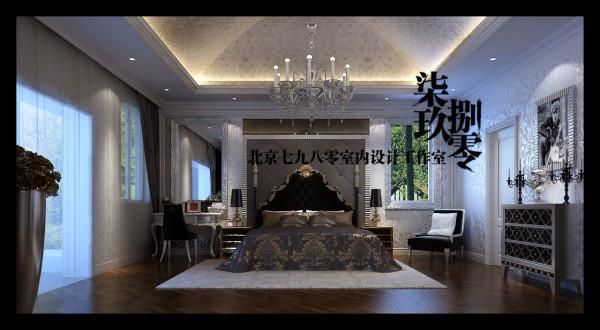 七九八零室内设计机构,别墅设计,欧式风格,七九八零,卧室设计