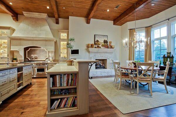 储物功能强大的吧台是普通家庭的不二选择。是不是总觉得家里东西太多?特别是一些小物件总是找不到合适的地方摆放整齐?储物式的吧台可以提供出方便实用的置物空间,这样就可以营造出干净、宽敞的家居环境啦!