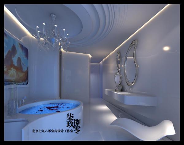七九八零设计工作室,别墅设计,欧式奢华,会所设计,欧式风格,卫生间设计