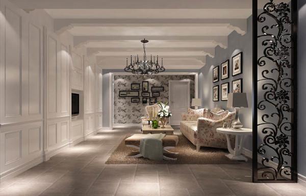 客厅简洁明快   客厅作为待客区域,一般要求简洁明快,同时装修较其它空间要更明快光鲜,通常使用大量的石材和木饰面装饰。
