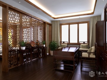 新中式别墅装修设计赏析