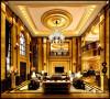 名雕丹迪别墅装饰设计-远洋城别墅欧式会客厅
