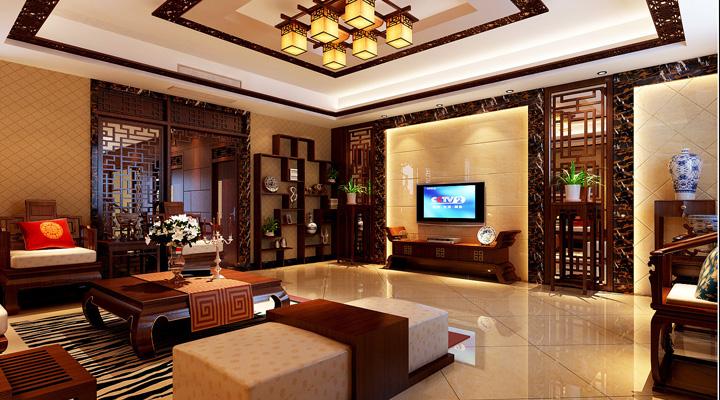 简约 中式 家居 三居 装修 装修效果图 家庭装修 风水 室内装修 客厅图片来自曹丹在置身其中任千年故事顺指间流淌。的分享