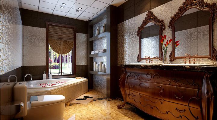 简约 中式 家居 三居 装修 装修效果图 家庭装修 风水 室内装修 卫生间图片来自曹丹在置身其中任千年故事顺指间流淌。的分享