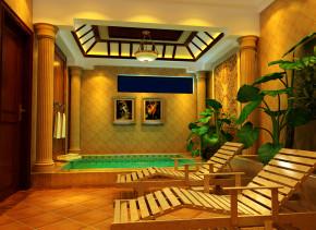 欧式 别墅 白领 80后 塞纳河谷 高度国际 时尚 白富美 奢华 书房图片来自北京高度国际装饰设计在塞纳河谷带您领略欧洲皇室奢华的分享