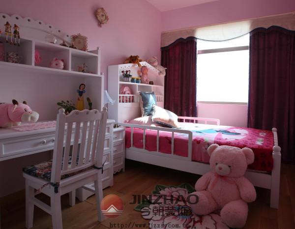 孩子的乐园,粉粉的儿童房