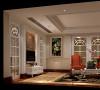 名雕丹迪设计美式自建别墅休闲厅: