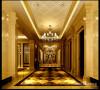 名雕丹迪别墅装饰设计-远洋城别墅欧式二层过厅