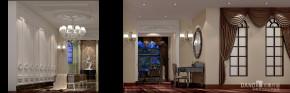 美式 别墅 自建别墅 别墅装饰 美式别墅 高富帅 衣帽间图片来自名雕丹迪在美式自建别墅,繁华深处尽朴实的分享