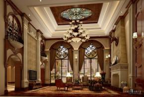 美式 别墅 自建别墅 别墅装饰 美式别墅 高富帅 客厅图片来自名雕丹迪在美式自建别墅,繁华深处尽朴实的分享