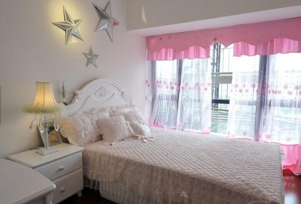 小碎花的粉嫩世界,打造浪漫居家的韩式田园新居!