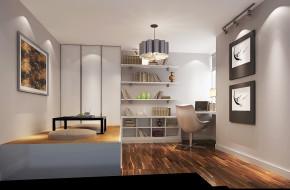 简约 现代 高度国际 白富美 时尚 世华泊郡 二居 白领 80后 书房图片来自北京高度国际装饰设计在世华泊郡80平现代极致公寓的分享