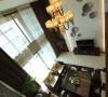 公园大地新中式别墅客厅俯瞰全景
