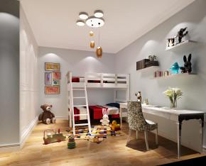 简约 现代 东方玫瑰 三居 白领 80后 白富美 时尚 儿童房图片来自北京高度国际装饰设计在华业东方玫瑰90平现代简约的分享