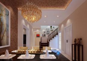 简约 中式 别墅 白领 收纳 旧房改造 80后 小资 楼梯图片来自实创装饰百灵在别墅度假风235平米昌平园中园的分享