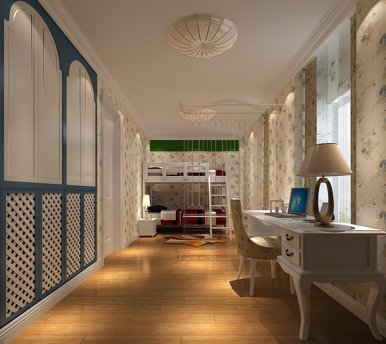 简约 田园 二居 白领 80后 小资 白富美 K2百合湾 Loft 书房图片来自北京高度国际装饰设计在K2百合湾80平Loft田园风的分享