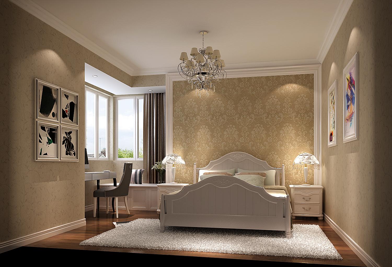 简约 田园 二居 白领 80后 小资 白富美 时尚 高度国际 卧室图片来自北京高度国际装饰设计在K2百合湾幸福田园风的分享