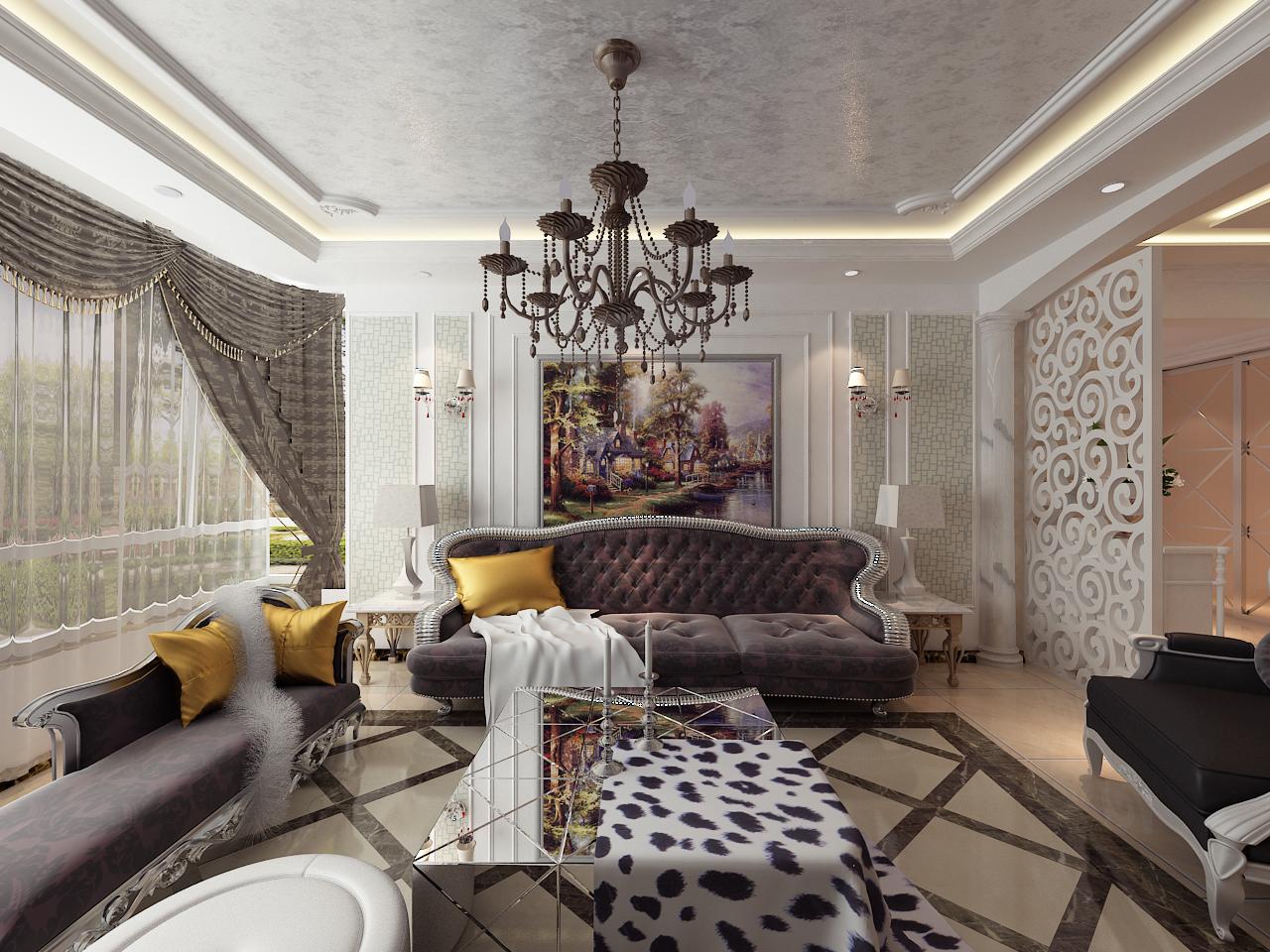 简约 小资 客厅图片来自晋级装饰小金在现代奢华137平的分享
