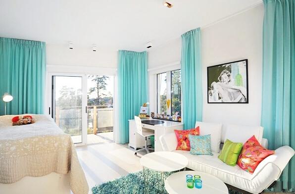 简约 现代 高度国际 时尚 白领 三居 80后 白富美 婚房 客厅图片来自北京高度国际装饰设计在小清新浪漫婚房的分享