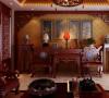 金隅山墅 loft 中式风格