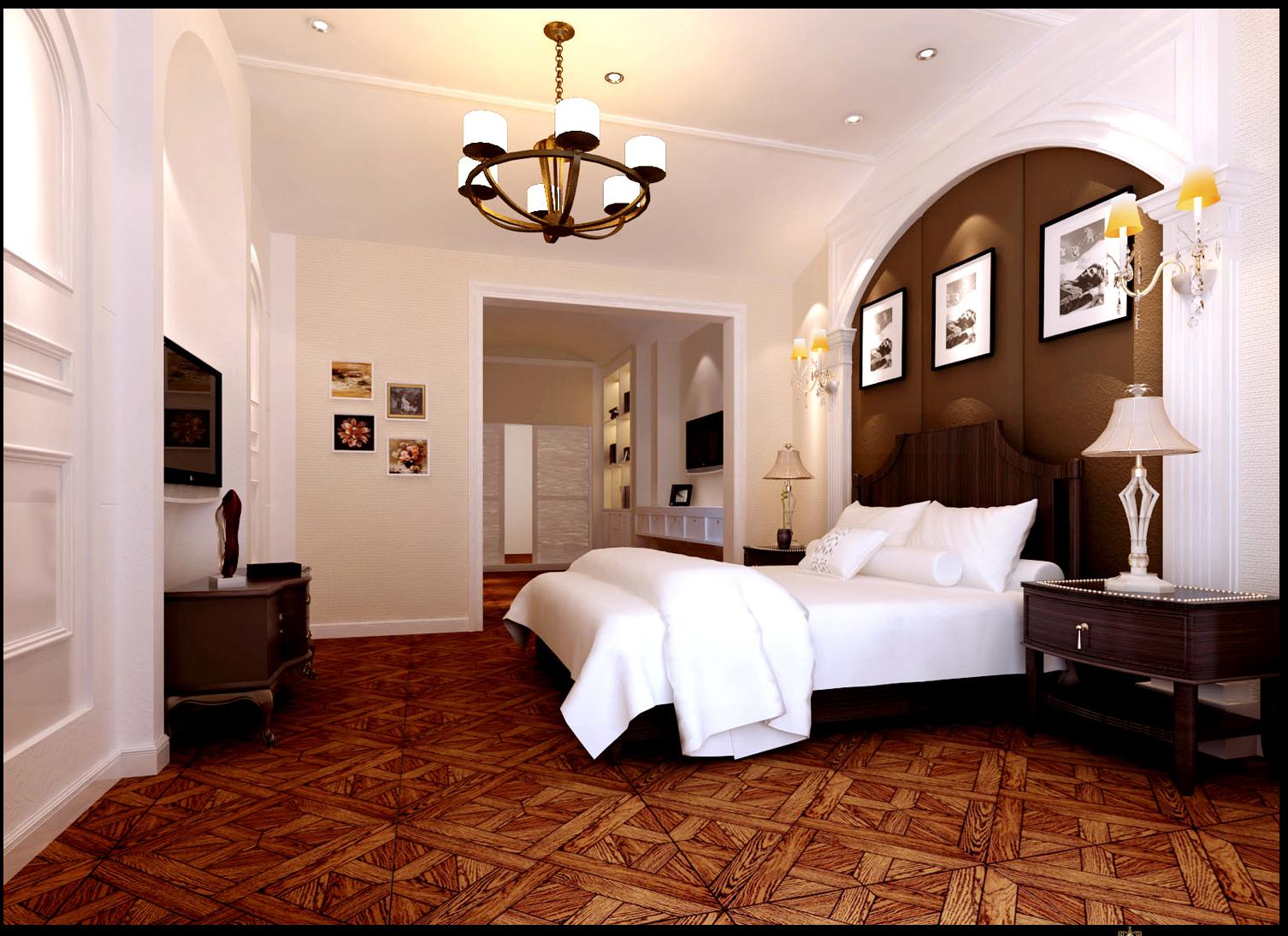 高度国际 欧式 别墅 卧室图片来自高度国际在32w打造奢华欧式风天竺新新家园的分享