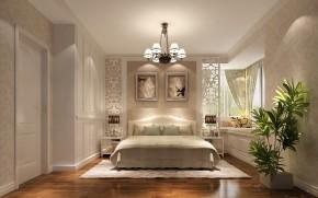 简约 欧式 二居 白领 80后 小资 白富美 小清新 高度国际 卧室图片来自北京高度国际装饰设计在K2百合湾80平小清新的分享