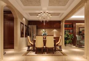 香醍溪岸 高度国际 白富美 时尚 混搭 欧式 别墅 白领 80后 餐厅图片来自北京高度国际装饰设计在29万打造龙湖香醍溪岸混搭联排的分享