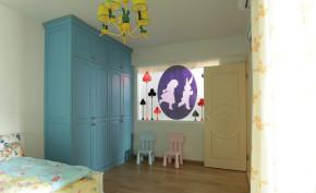 三居 绿野仙踪 浪漫 融科天城 温馨 彩色 混搭 欧美 儿童房图片来自唯美装饰在混搭三居室 • 绿野仙踪的分享