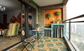 三居 绿野仙踪 浪漫 融科天城 温馨 彩色 混搭 欧美 阳台图片来自唯美装饰在混搭三居室 • 绿野仙踪的分享